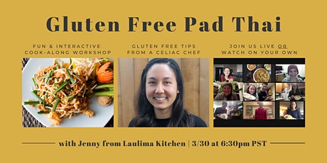 Gluten Free Pad Thai Cooking Class with Jenny from Laulima Kitchen tickets