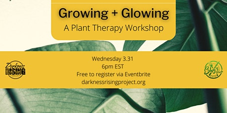 Growing + Glowing: A Plant Therapy Workshop tickets