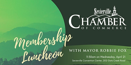 Lunch With Mayor Fox |Sevierville Chamber of Commerce tickets