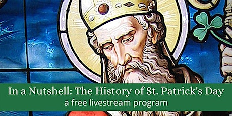 Livestream: The History of St. Patrick's Day tickets