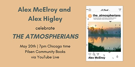 Alex McElroy and Alex Higley celebrate THE ATMOSPHERIANS tickets
