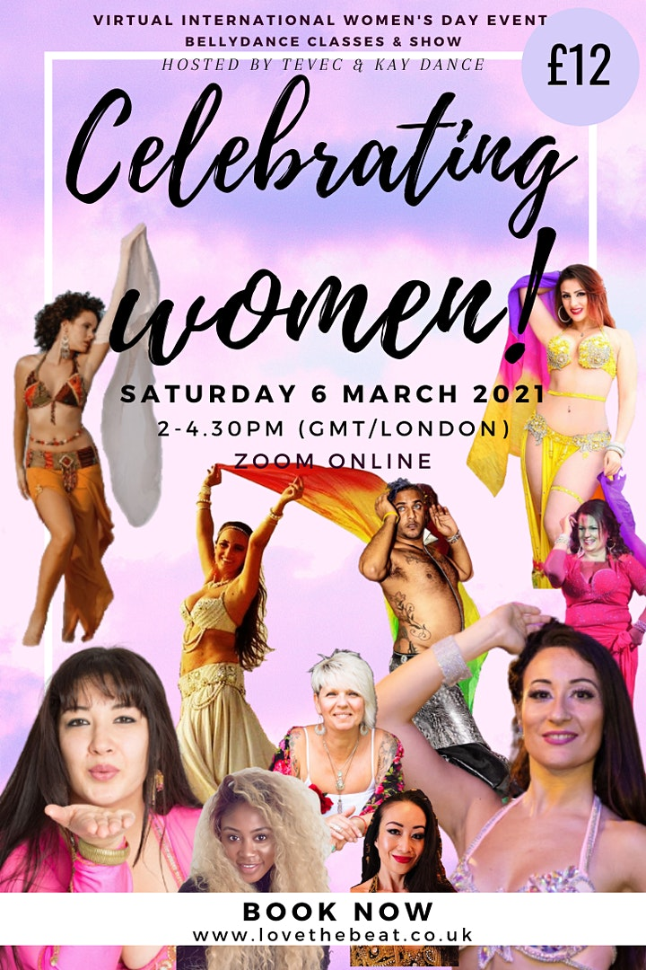 Celebrating Women - with Bellydance and Movement image