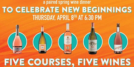 Spring Wine Dinner tickets