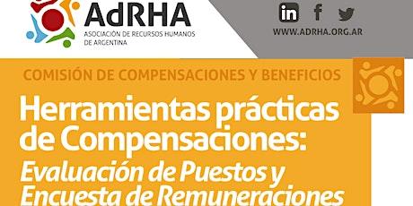 Herramientas prácticas de Compensaciones entradas