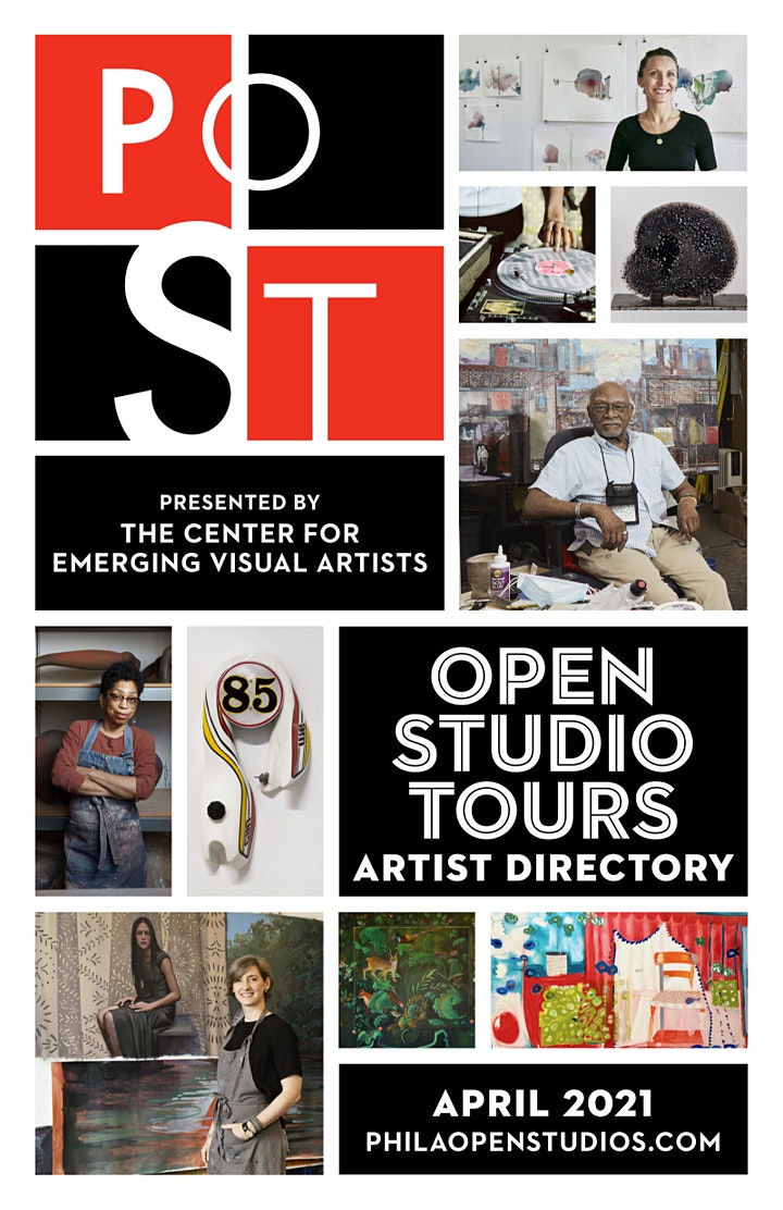 Philadelphia Open Studio Tours:  April 7, 14, 21, 28, 2021 - FREE image