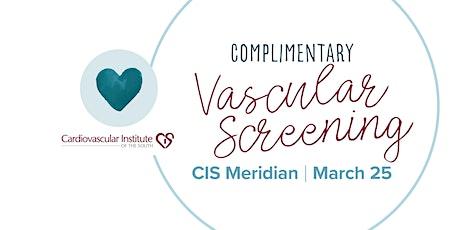 CIS Meridian Vein Screening tickets