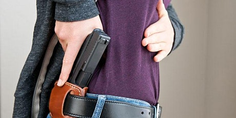 """Concealed Carry Initial Training"" tickets"
