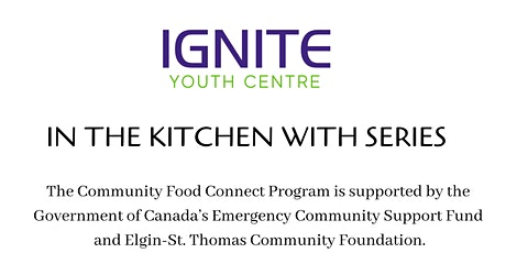 In the Kitchen with Sean Dyke  - Community Food Connect Series tickets