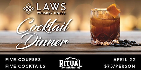Laws Whiskey Pairing Dinner tickets