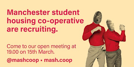 Manchester Student Housing Co-operative - New members recruitment tickets