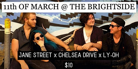 Jane Street x Chelsea Drive x LY-OH tickets