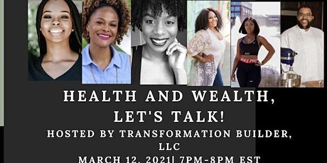 Health and Wealth, Let's Talk! tickets