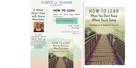 How To Lead When You Don't Know Where You're Going with Shara Moscinska tickets