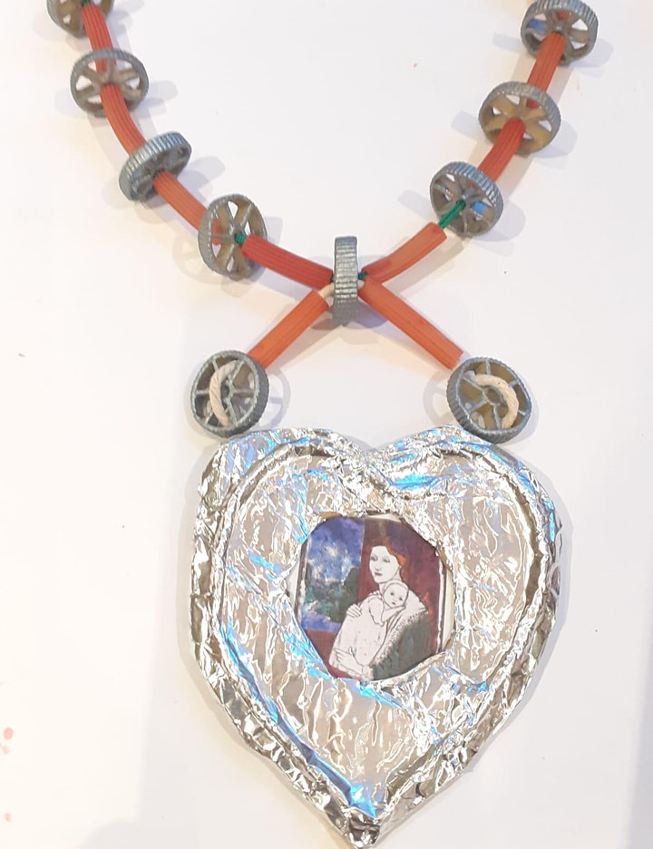 Creative Kids Online: Make Arts & Craft Pasta Jewelry for Mothers' Day AM image