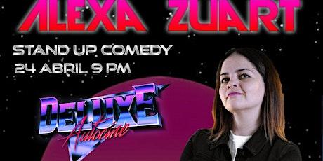 Alexa Zuart | Stand Up Comedy | Pachuca boletos