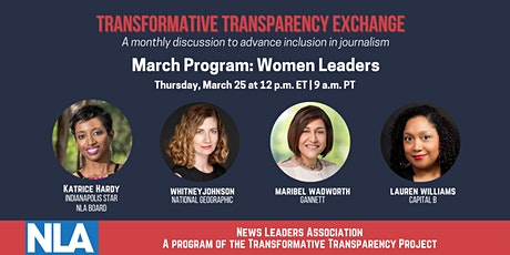 Transformative Transparency Exchange: Support & Space for Women Leaders Tickets