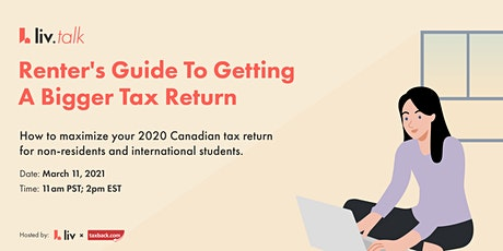 Renter's Guide To Getting A Bigger Tax Return with TaxBack | Live Webinar tickets