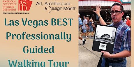 Walking tour of Downtown Las Vegas 2021 tickets