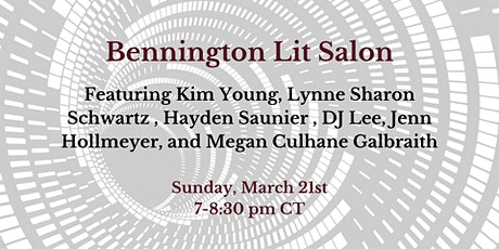 Bennington Lit Salon tickets