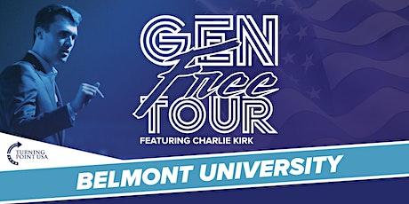 Gen Free Tour at Belmont University tickets