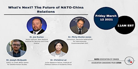 What's Next? The Future of NATO-China Relations tickets