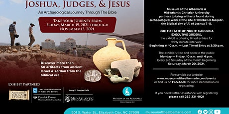 Joshua, Judges, and Jesus: An Archaeological Journey Through The Bible tickets