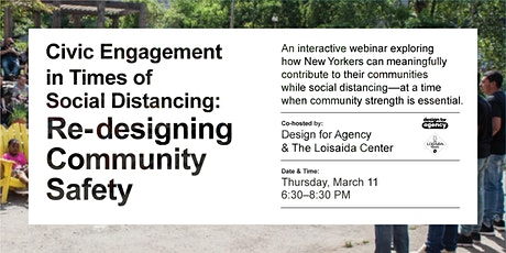 Civic Engagement in Times of Social Distance - Loisaida Festival Edition tickets
