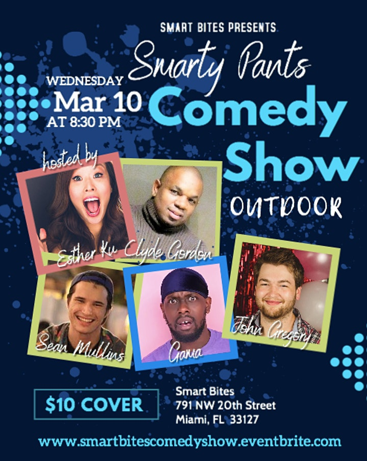 Smarty Pants Comedy Show at Smart Bites image