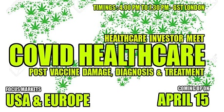 Covid Healthcare Investor Meet -Post Vaccine Damage, Diagnosis & Treatment tickets