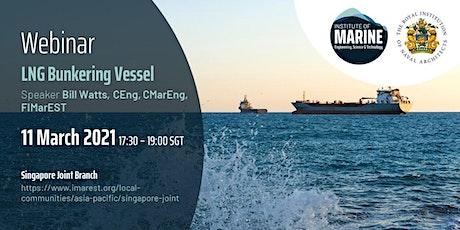 WEBINAR: LNG Bunkering Vessel tickets