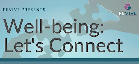 Copy of Wellbeing: Let's connect! tickets