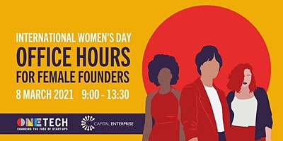 International Women's Day 2021 – Women's Office Hours