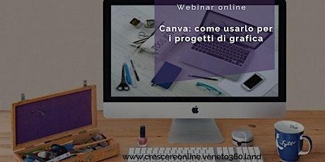 CANVA: come usarlo per i progetti di grafica biglietti