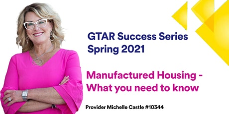 GTAR SUCCESS SERIES SPRING 2021 - Manufactured Housing tickets
