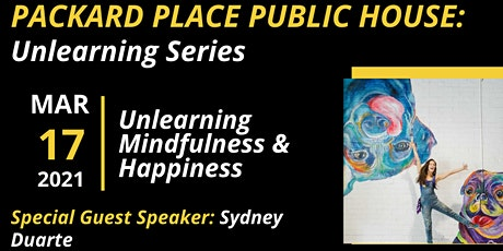 Packard Place Public House: Unlearning with Sydney tickets
