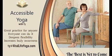 FREE - Chair Yoga tickets