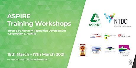 ASPIRE Training Workshop - MEANDER VALLEY LOCATION tickets