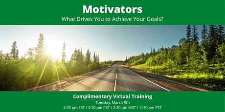 Motivators: What Drives You to Achieve Your Goals tickets