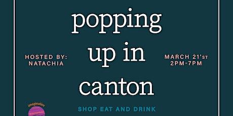 Pop Up Shop!(spots filled) tickets