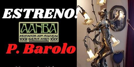 Estreno Art Nouveau 2021 en el P. Barolo entradas
