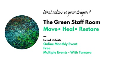 The Green Staff Room: Rest and Restore for Educators tickets