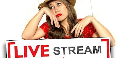 Krystyna Hutchinson, Luis Gomez! StandUp Comedy Show Live-Stream! tickets