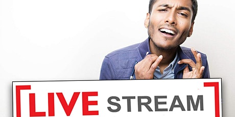 Usama Siddiquee, Krystyna Hutchinson! StandUp Comedy Show Live-Stream! tickets