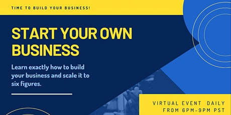 Own Your Own Business In Less than 60 days tickets
