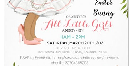 ALL LITTLE GIRLS Tea Party & Brunch with the Easter Bunny! Autism Sensory tickets