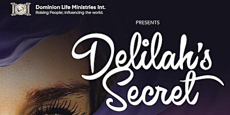 Delilah's Secret tickets