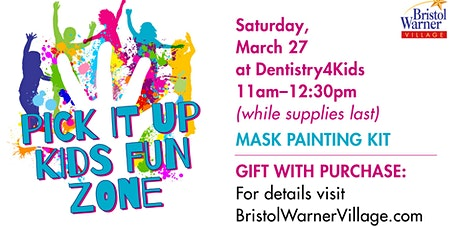 FREE Craft Kits With $20 Purchase At  Bristol Warner Village Kids Fun Zone tickets