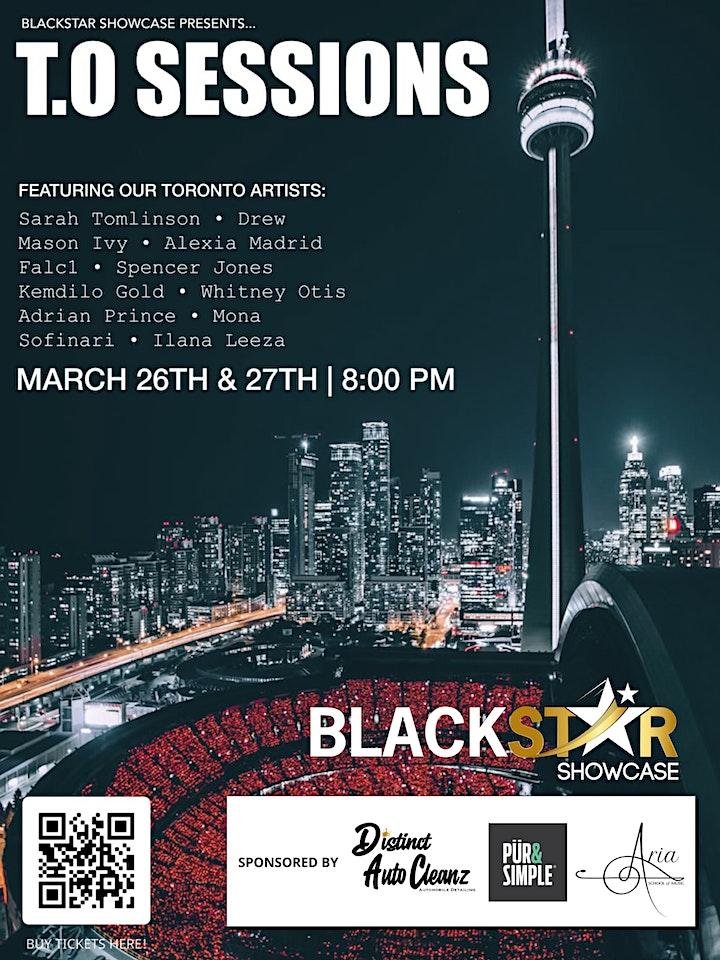 BlackStar Showcase Presents T.O Sessions image