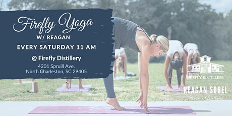 Yoga at Firefly Distillery w/ Reagan Sobel tickets