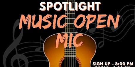 The Spotlight Open Mic tickets